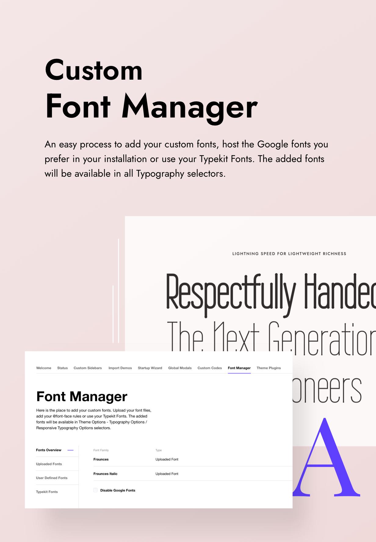 Impeka Font Manager