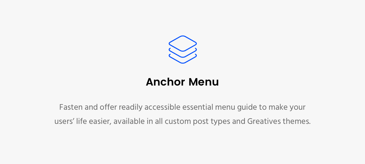 Movedo Anchor Menu
