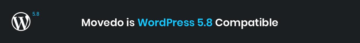 Movedo WordPress 5.8