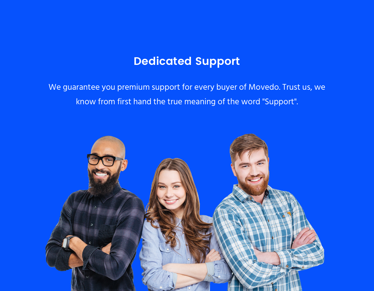 Movedo Support Team Movedo – Responsive Multi-Purpose WordPress Theme Nulled Free Download support new