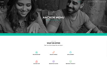 Anchor Menu