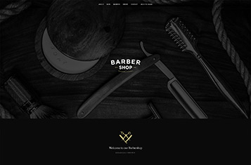Barbershop Homepage