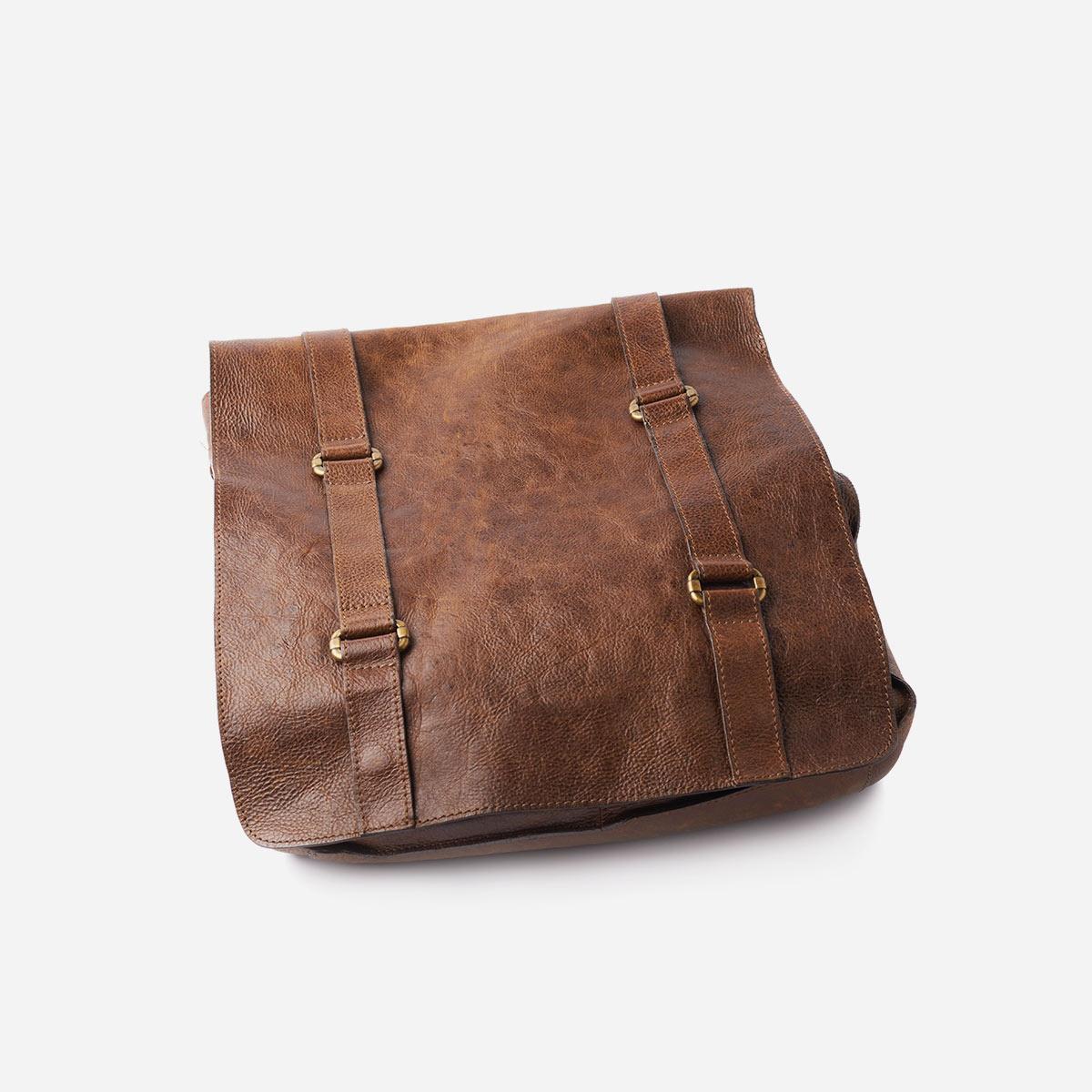 Brown-leather-shoulder-bag