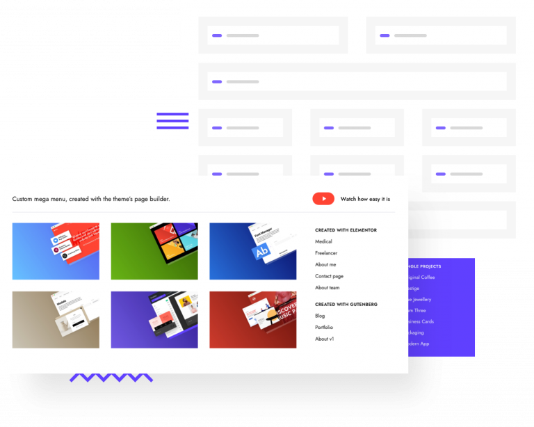 Impeka Mega Menu - Premium WordPress Multipurpose theme by Greatives