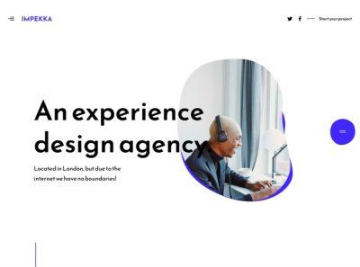 Impekka Design Agency - Premium WordPress theme by Greatives