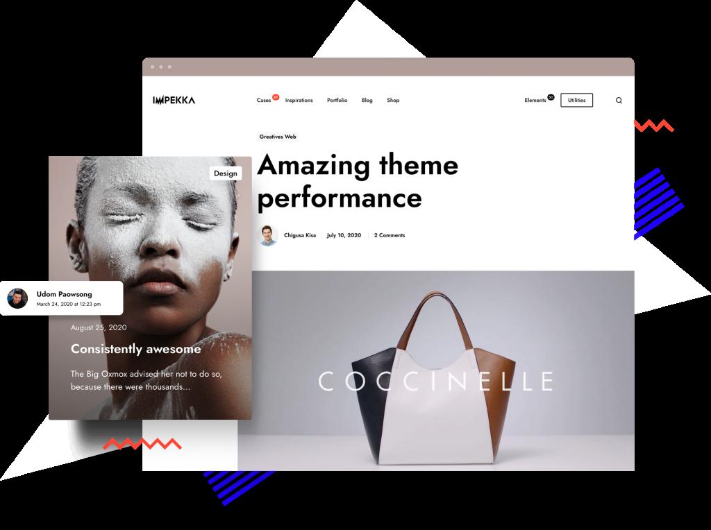 Impekka Blog Posts- Premium WordPress Multipurpose theme by Greatives