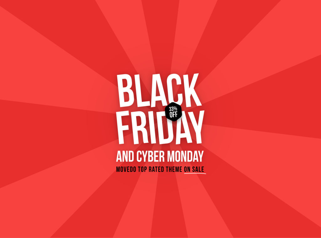 Movedo premium WP theme Black Friday
