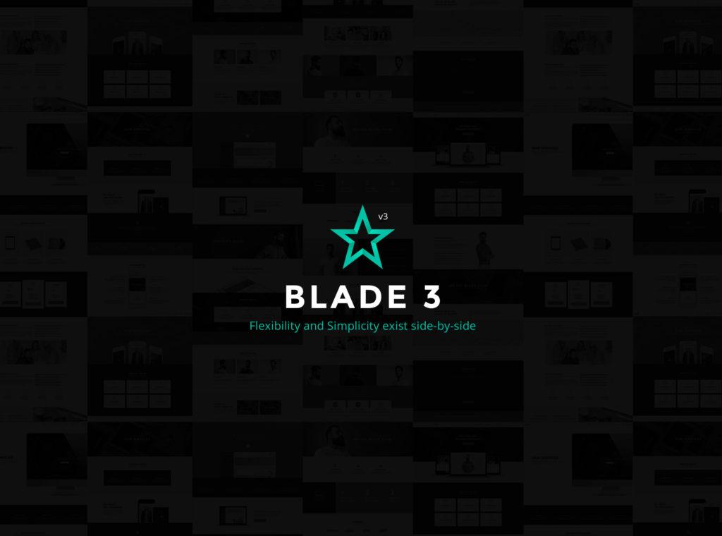 Blade v3, premium theme by Greatives