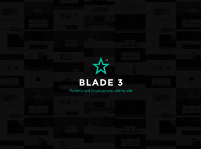 Blade v3, premium theme by Greatives