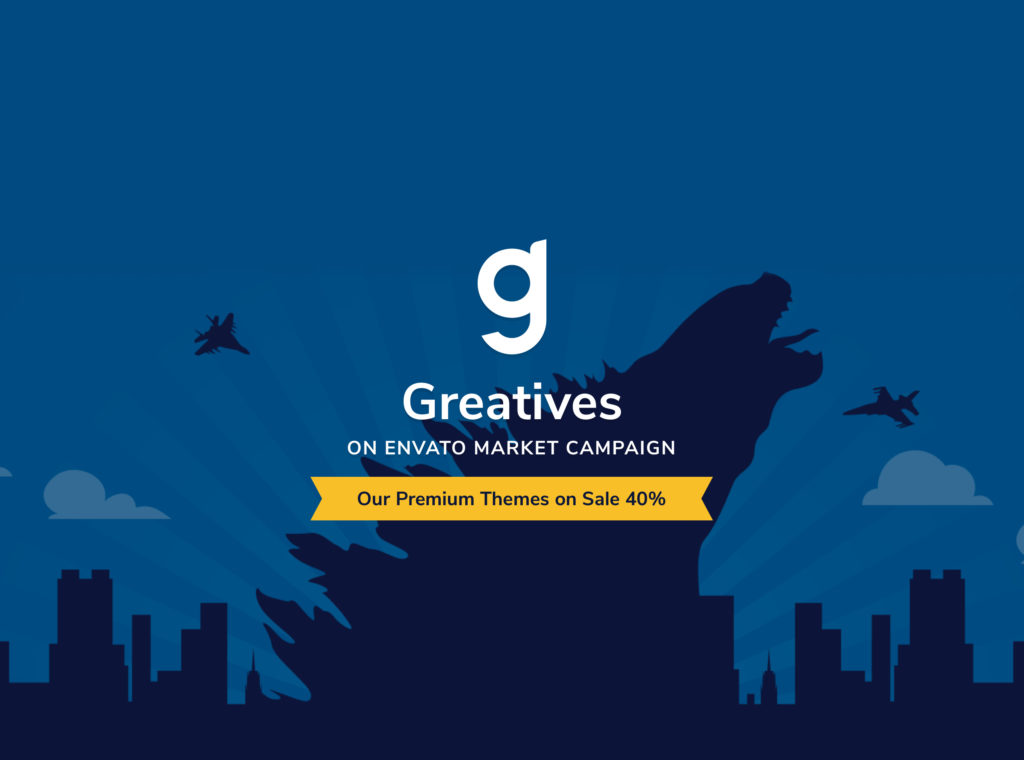 Greatives on Envato Market Campaign
