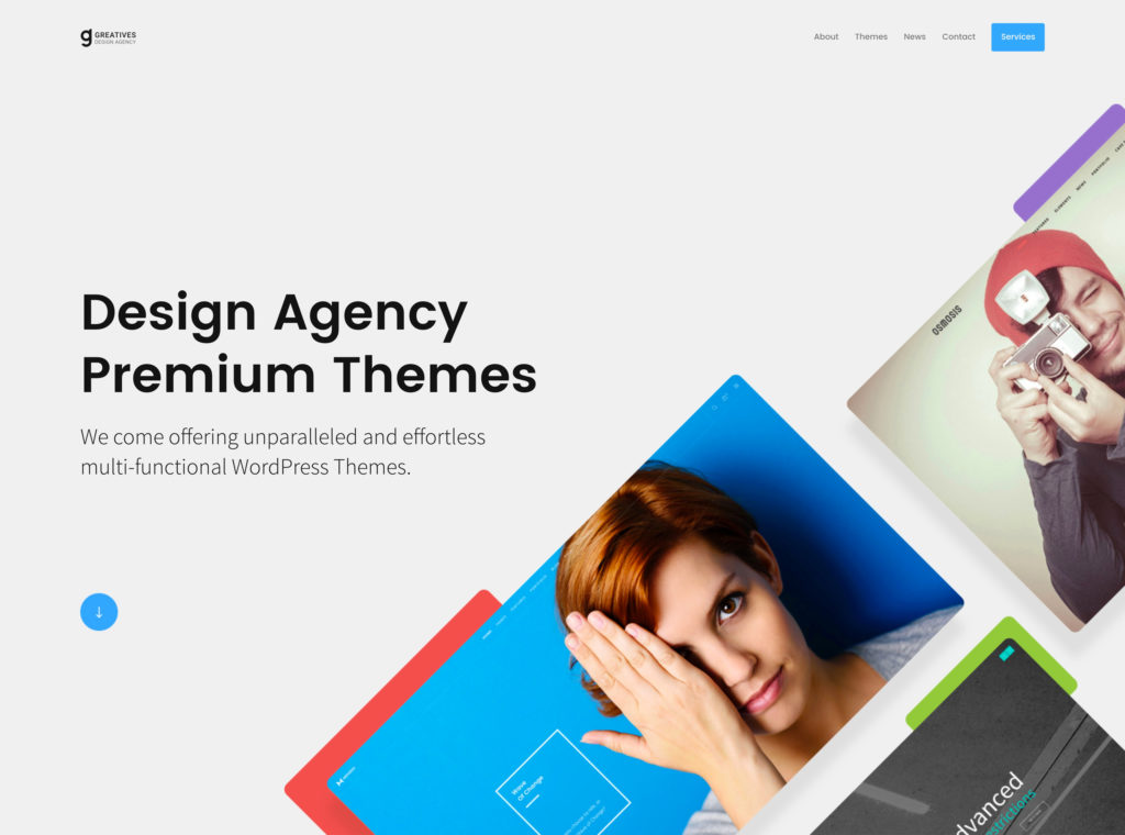 Greatives Premium WordPress themes