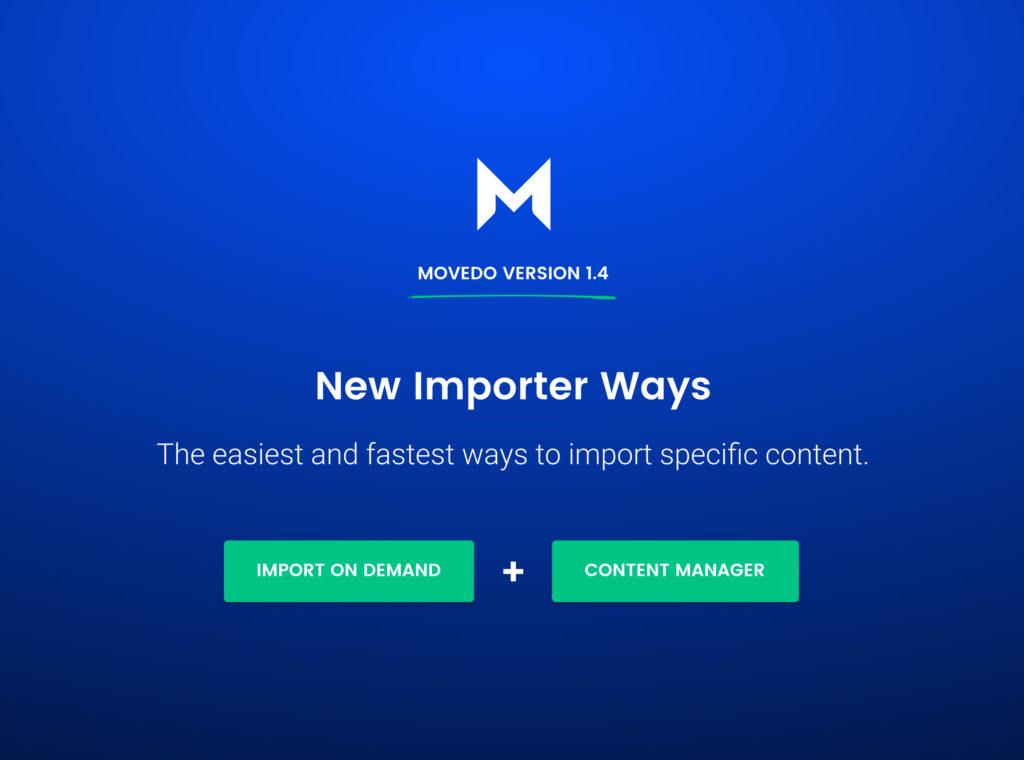 Movedo amazing importer ways by Greatives