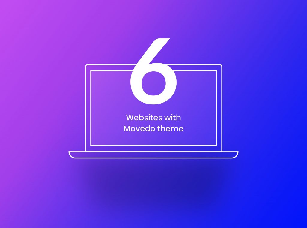 Website case studies created with Movedo by Greatives