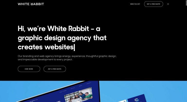 White Rabbit created with Movedo