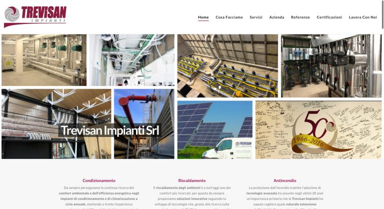 Trevisan Impianti created with Corpus
