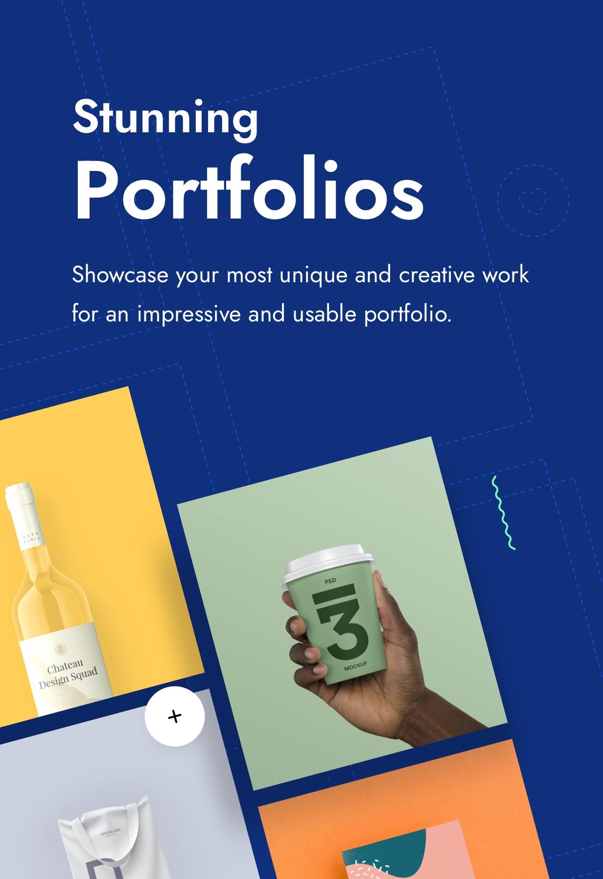 Impeka Premium Multipurpose WordPress theme by Greatives to showcase your portfolio