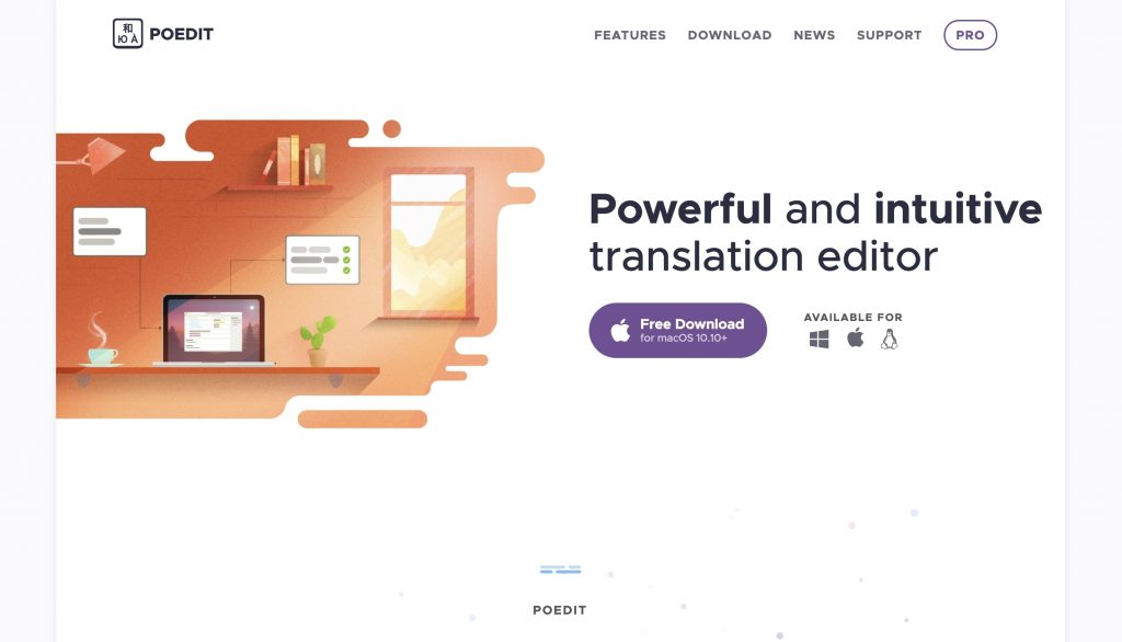 PoEdit translation editor
